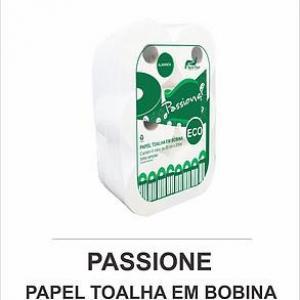 PASSIONE ECO PAPEL TOALHA EM BOBINA 200 METROS - ALAVANCA