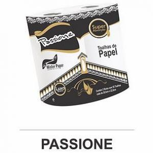 PASSIONE PAPEL TOALHA LUXO COM 55 FOLHAS