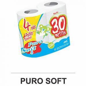 Puro Soft - Papel Higiênico 30 M Folha Dupla